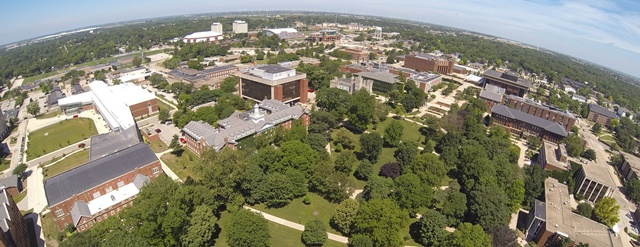 Campus Drone View